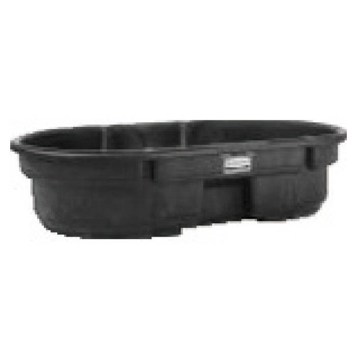 大容量の樹脂製桶です 屋外でも優れた耐久性を発揮します 格安 価格でご提供いたします T ラバーメイド 数量限定 424307 ブラック ストックタンク