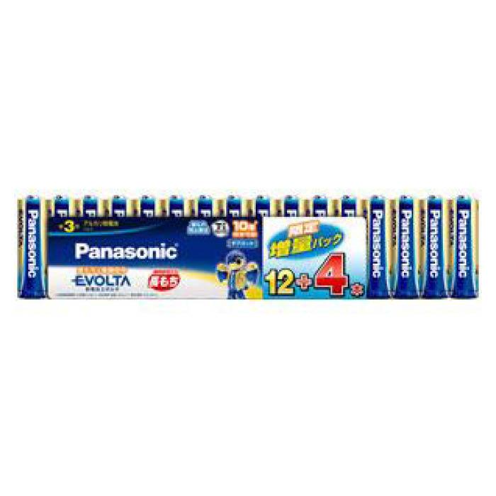 Panasonic パナソニック 大人気 エボルタ増量 最安値 単3×16P LR6EJSP16S