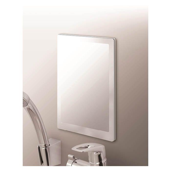 取り付け簡単で自在に位置が変更できるマグネットタイプ 浴室をすっきり綺麗に見せたい方にお勧め 新品未使用 購買 アスベル マグネットW ラックスMGくもり止め樹脂ミラーM