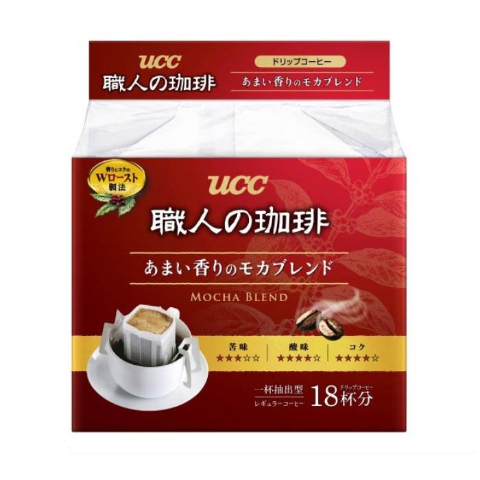 UCC 職人の珈琲 ドリップ  あまい香りのモカブレンド 18杯分
