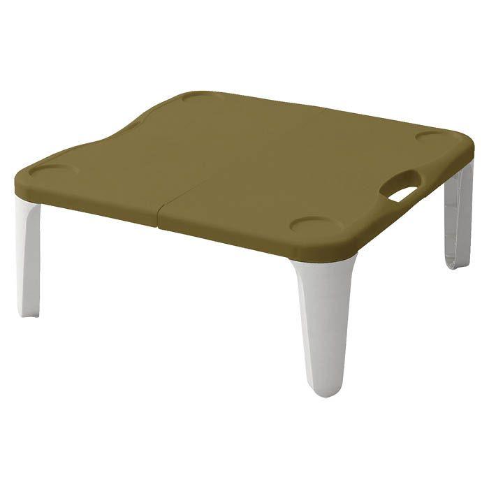 行楽に最適の折畳みテーブル 美品 NAFCO コンパクトテーブル [宅送] BE CT-55N