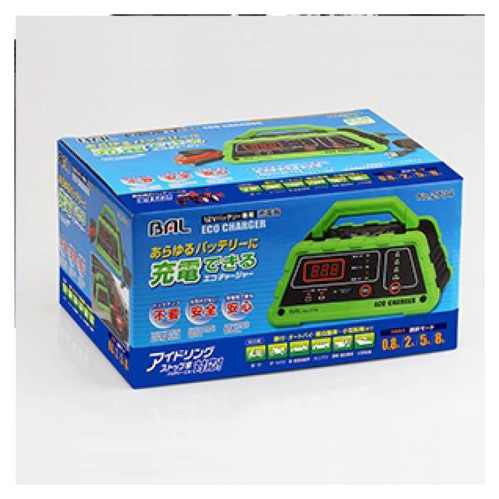 大橋産業 12Vバッテリー専用充電器 ECO CH 2704