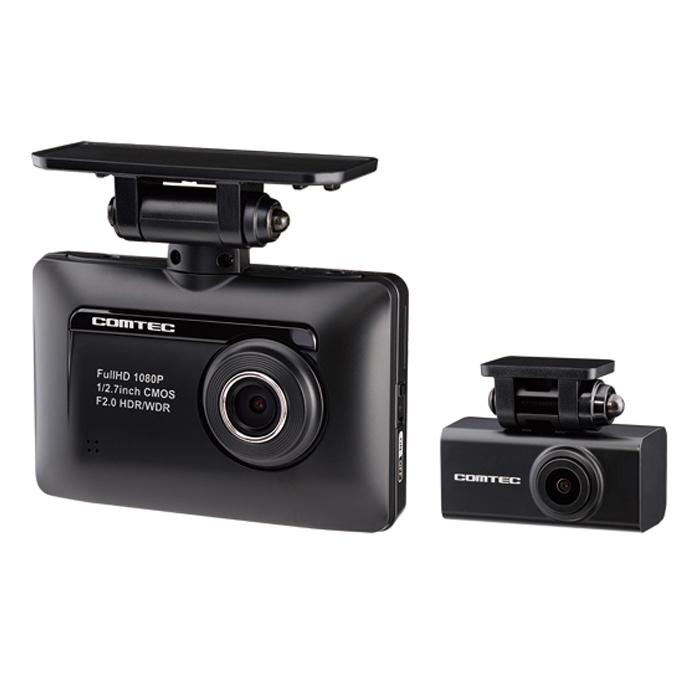 コムテック コムテック前後2カメラドライブレコーダー ZDR015 フルHD200万画素