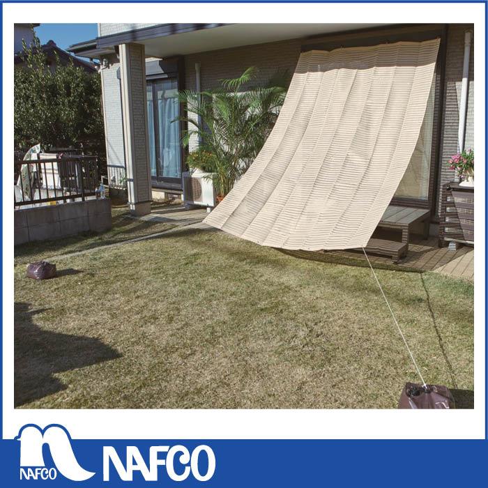 日よけや目隠しに便利なガーデンシェード 日よけ 至上 高品質 オーニング アイボリー 涼風シェード BRGS-2030