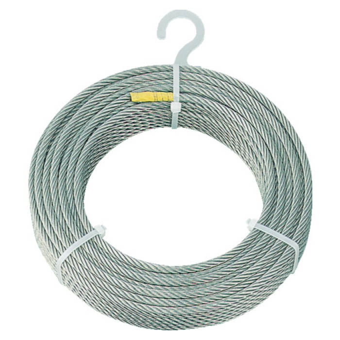 (T)TRUSCO(トラスコ)ステンレスワイヤロープ Φ4.0mmX50m