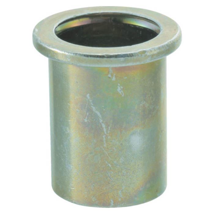 (T)TRUSCO(トラスコ)クリンプナット平頭ステンレス 板厚3.5 M5X0.8 100個入