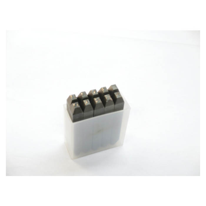 TRUSCO(トラスコ)逆数字刻印セット 4mm
