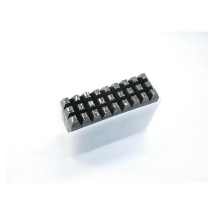 (T)TRUSCO(トラスコ)英字刻印セット 6mm