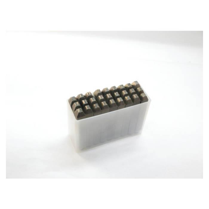 TRUSCO(トラスコ)逆英字刻印セット 8mm