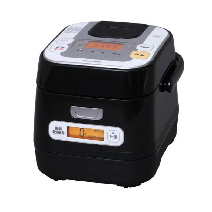 アイリスオーヤマ 銘柄量り炊き IHジャー炊飯器3合 RC-IA30-B