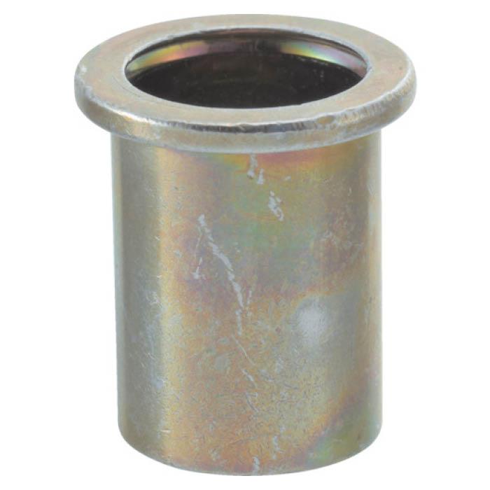 (T)TRUSCO(トラスコ) クリンプナット平頭スチール 板厚2.5 M10X1.5 500個入