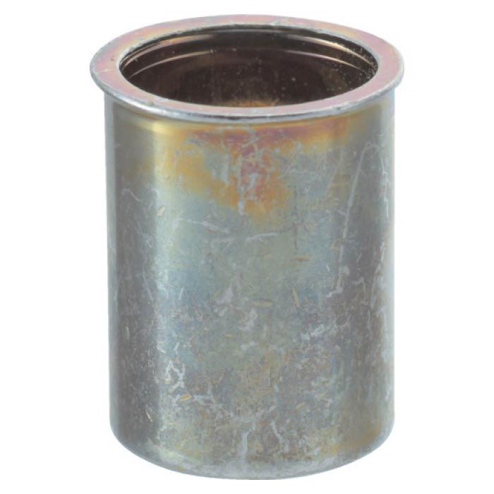 (T)TRUSCO(トラスコ) クリンプナット薄頭スチール 板厚4.0 M10X1.5 500個入