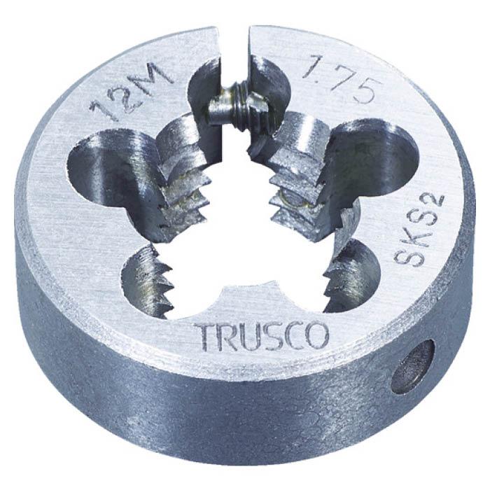 (T)TRUSCO(トラスコ) 丸ダイス SKS 細目 63径 30X1.5