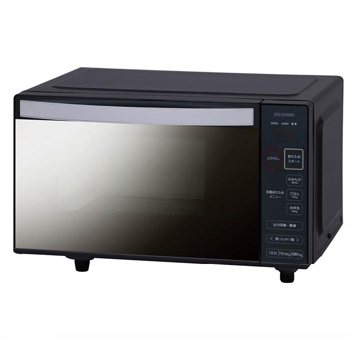 アイリスオーヤマ 電子レンジフラットミラーガラス60Hz IMB-FM18-6
