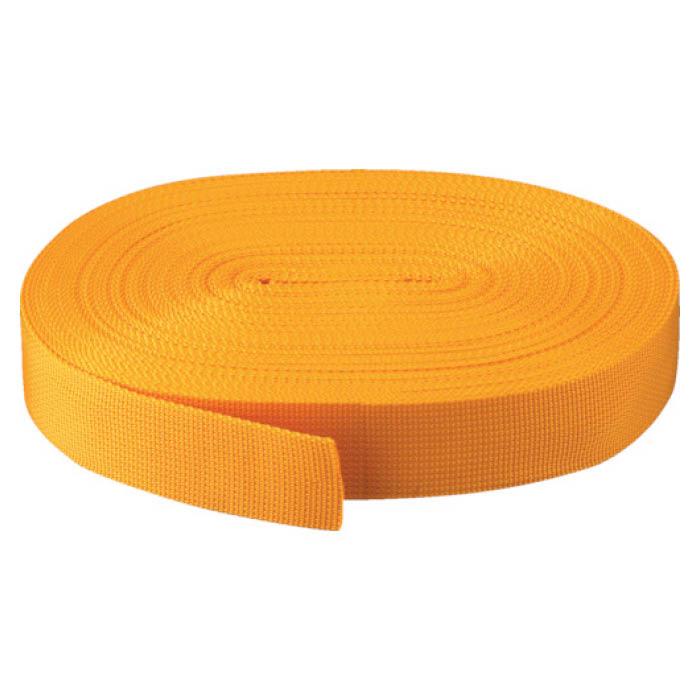 (T)TRUSCO(トラスコ) PPベルト幅50mmX長さ50m黄