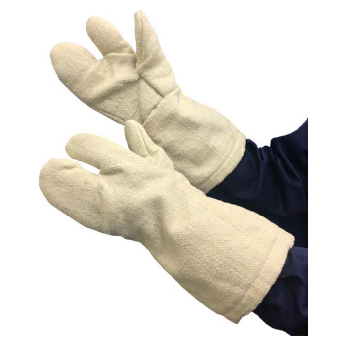 【エントリーでポイント10倍】TRUSCO(トラスコ) 生体溶解性セラミック耐熱手袋3本指タイプ【2019/1/9 20時ー1/16 1時59分】