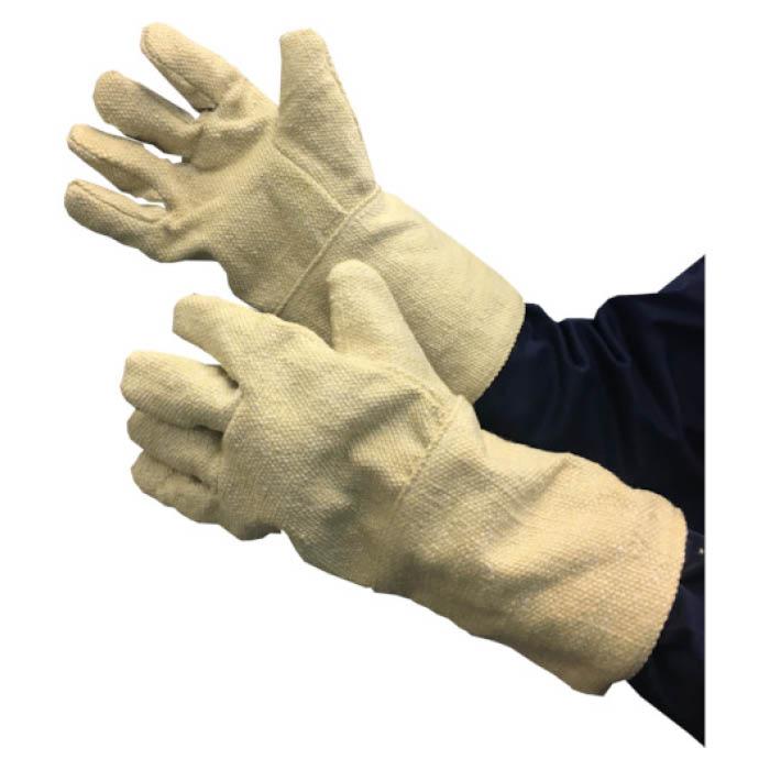 【エントリーでポイント10倍】TRUSCO(トラスコ) 生体溶解性セラミック耐熱手袋5本指タイプ【2019/1/9 20時ー1/16 1時59分】