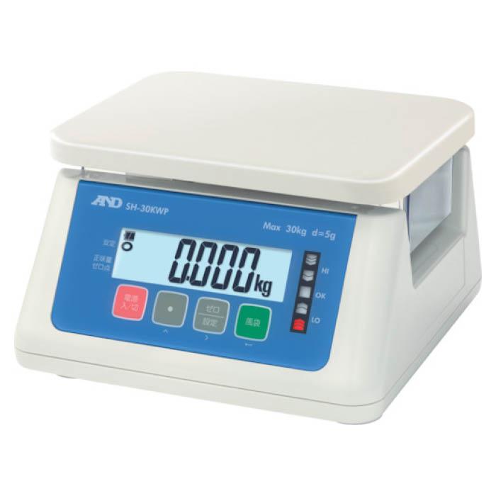 史上一番安い (T)A&D デジタル防水はかり 30Kg:ホームプラザナフコ店-DIY・工具