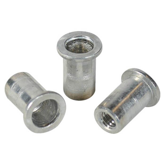 (T)エビ ナット Dタイプ アルミニウム 10-2.5 (500個入)