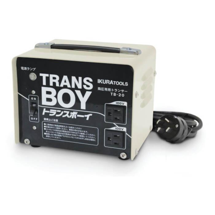 T 育良 激安通販販売 ポータブルトランス 降圧器 40215 再入荷/予約販売!