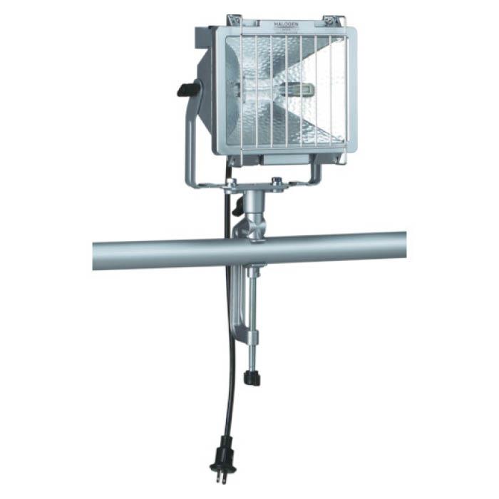 (T)ハタヤ 防雨型ハロゲンライト 500W 100V電線5m バイス付