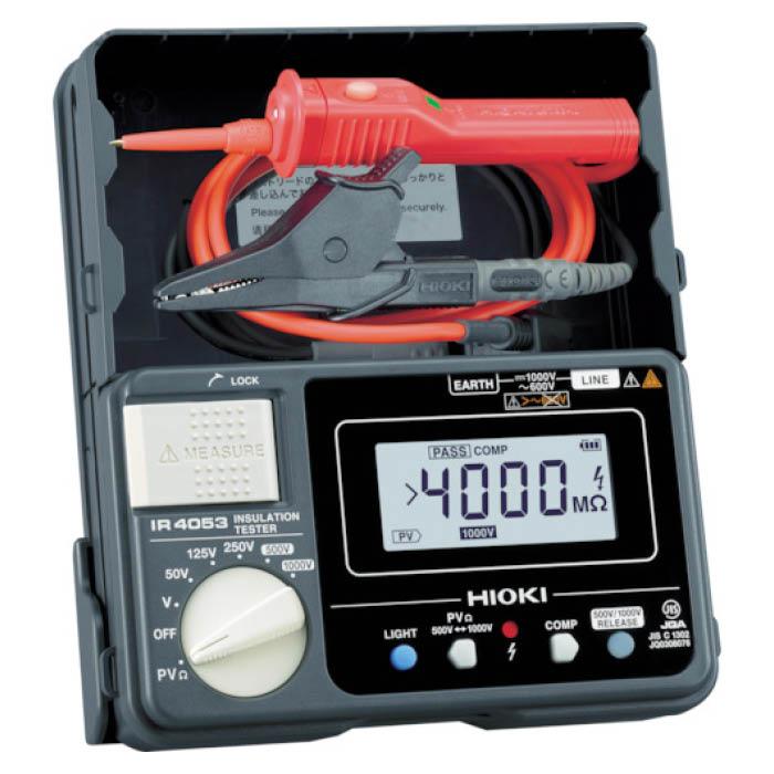 (T)HIOKI 太陽光発電システム用絶縁抵抗計IR4053-11