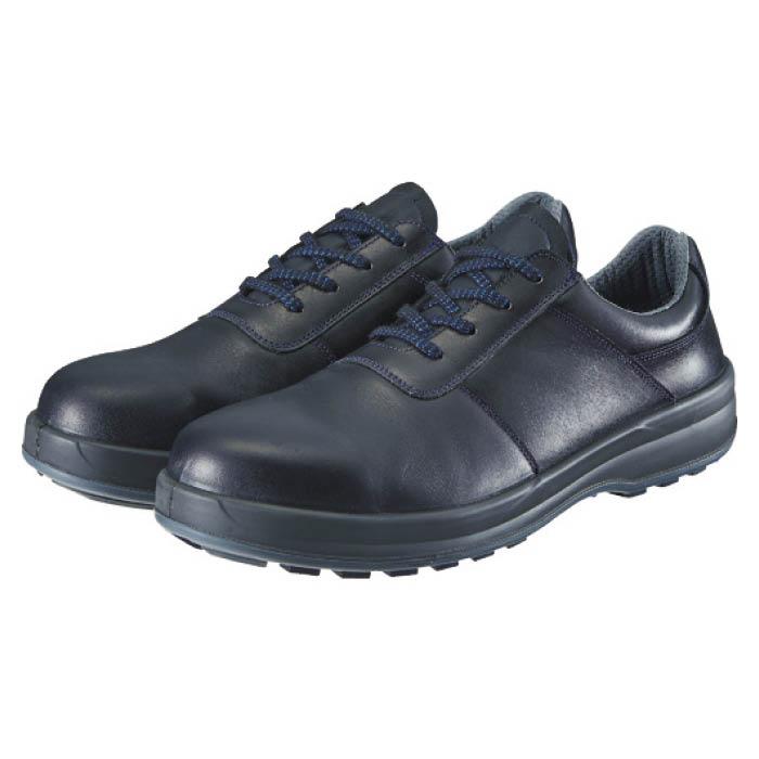 (T)シモン 安全靴 短靴 8511黒 24.5cm