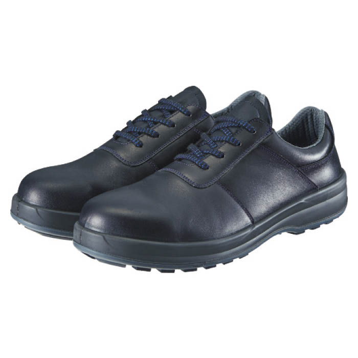 (T)シモン 安全靴 短靴 8511黒 25.5cm