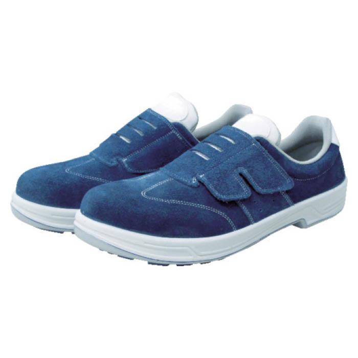 (T)シモン 安全靴 短靴マジック式 SS18BV 24.0cm