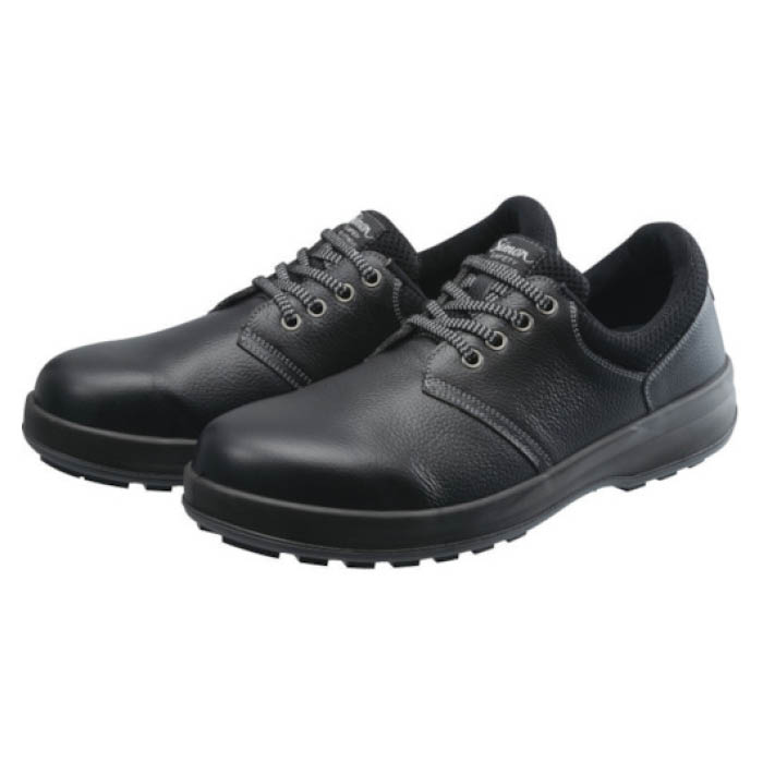 (T)シモン 安全靴 短靴 WS11黒 24.5cm