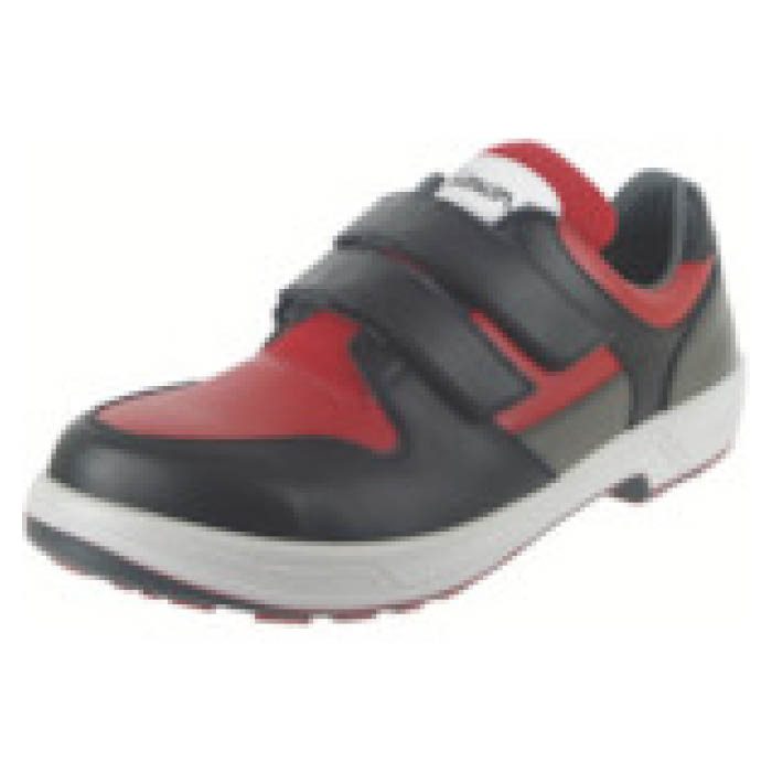 (T)シモン トリセオシリーズ 短靴 赤/黒 25.0cm