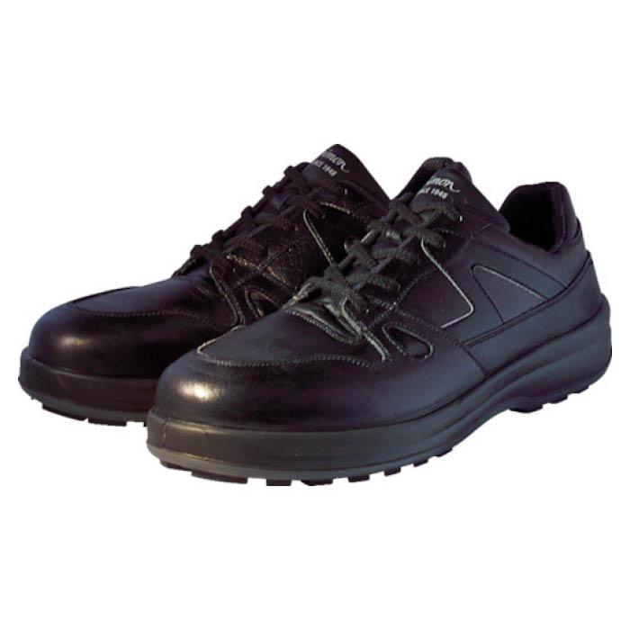 (T)シモン 安全靴 短靴 8611黒 24.0cm