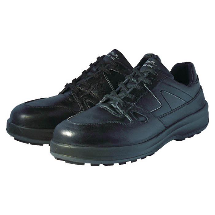 (T)シモン 安全靴 短靴 8611黒 25.0cm