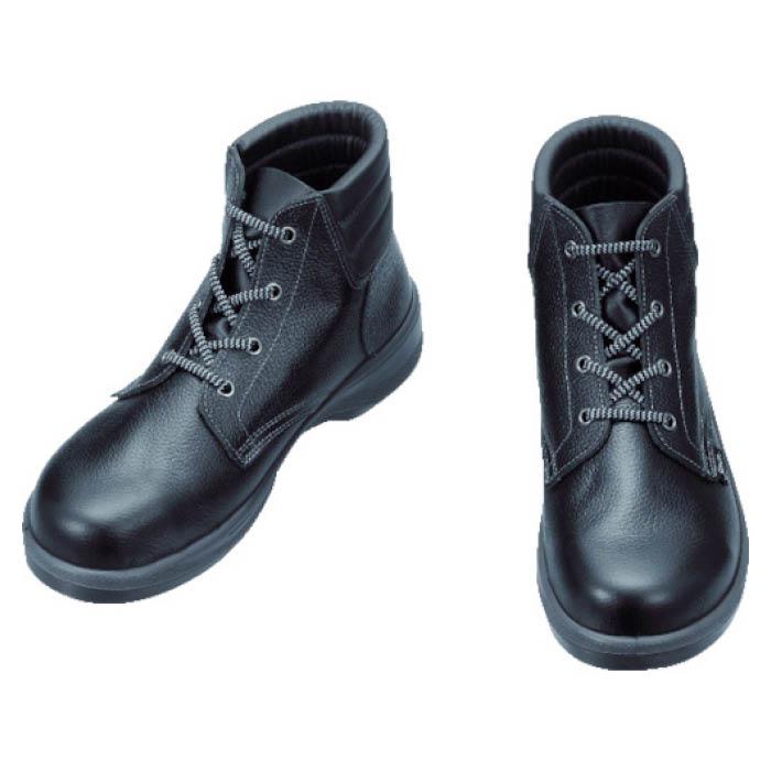 (T)シモン 安全靴 編上靴 7522黒 24.5cm