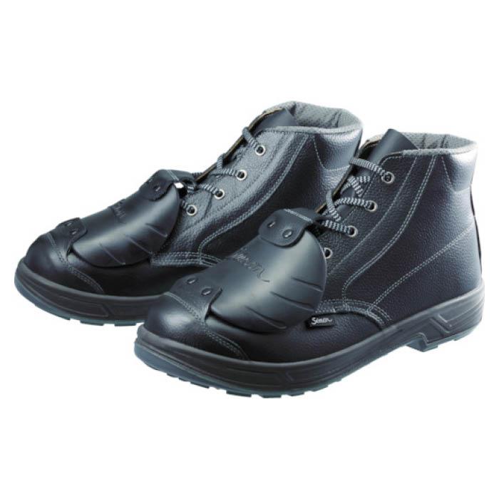 (T)シモン 安全靴甲プロ付 編上靴 SS22D-6 27.0cm