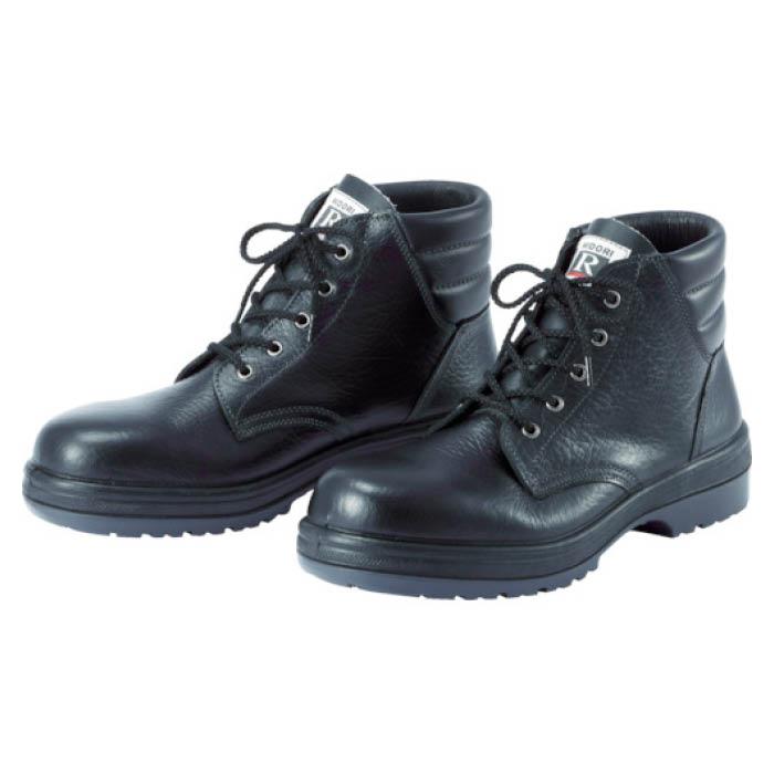 (T)ミドリ安全 ラバーテック中編上靴 25.0cm