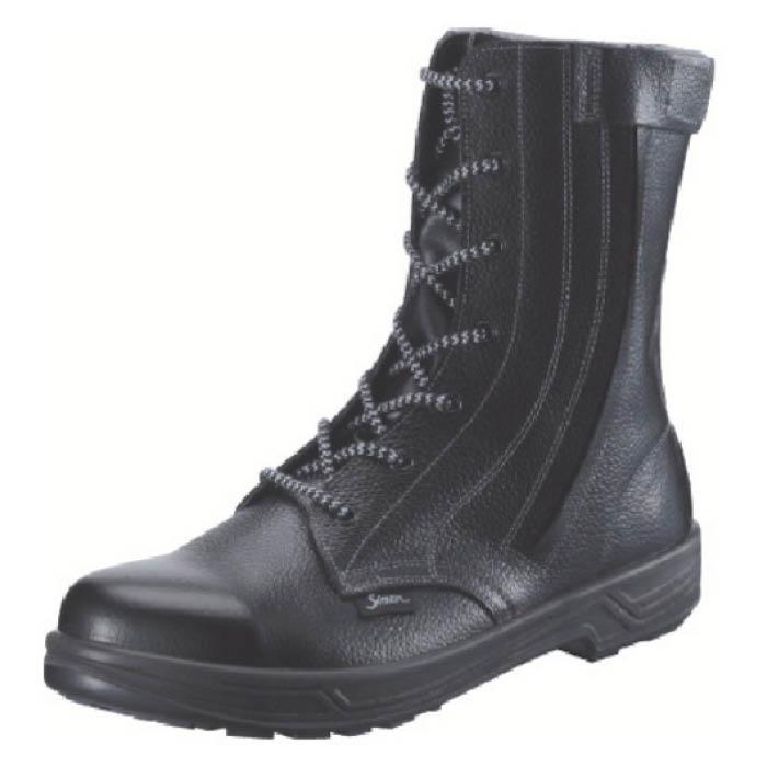 (T)シモン 安全靴 長編上靴 SS33C付 25.5cm