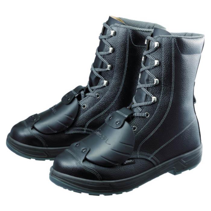 (T)シモン 安全靴甲プロ付 長編上靴 SS33D-6 26.5cm