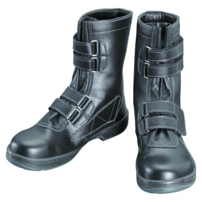 (T)シモン 安全靴 長編上靴マジック式 SS38黒 29.0cm