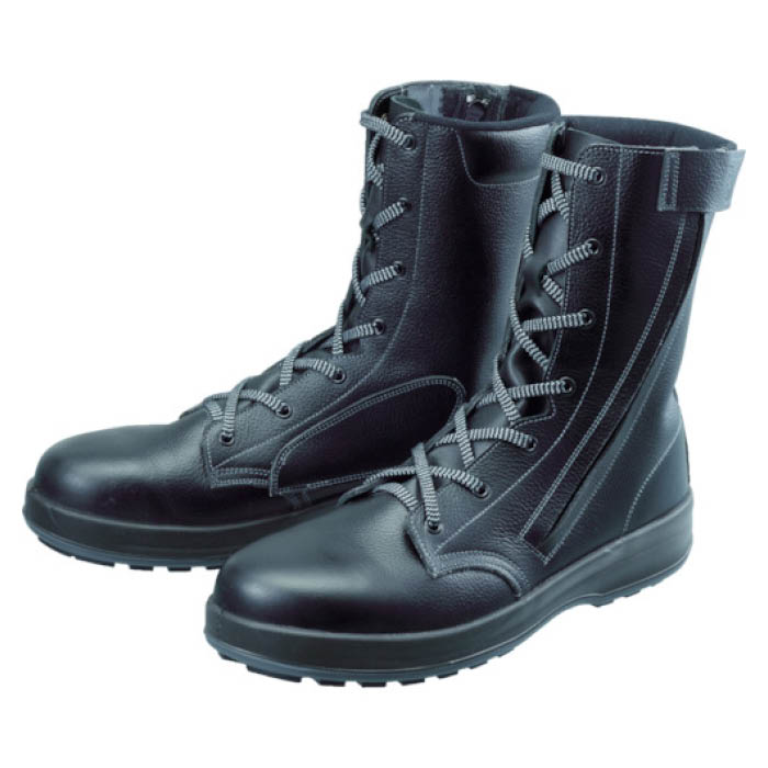 (T)シモン 安全靴 長編上靴 WS33黒C付 25.5cm