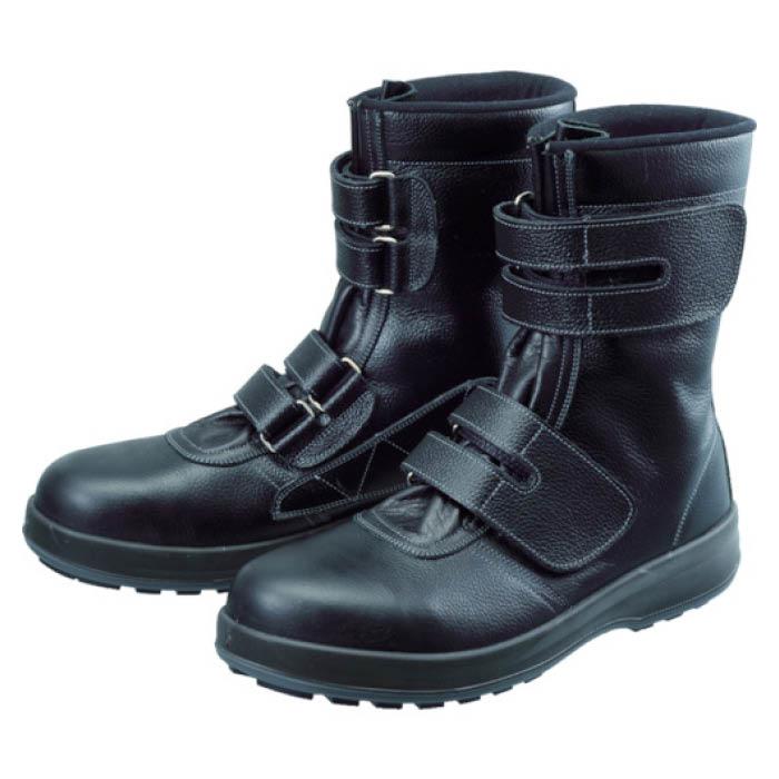 (T)シモン 安全靴 長編上靴 マジック WS38黒 26.0cm