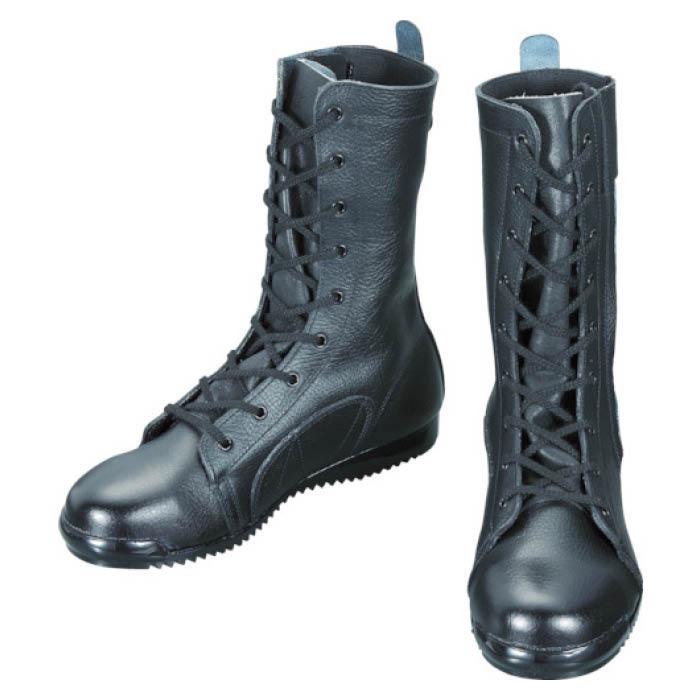 (T)シモン 安全靴高所作業用 長編上靴 3033都纏 24.5cm