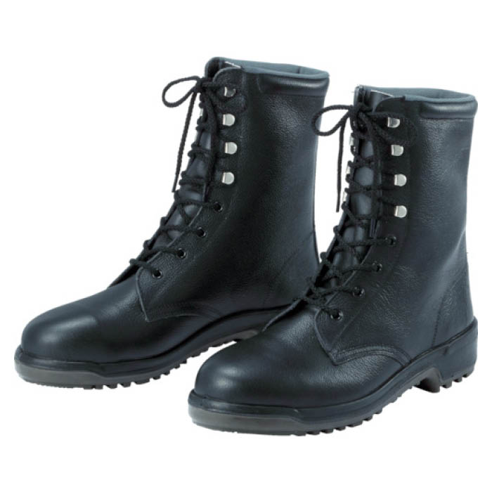 (T)ミドリ安全 安全長編上靴 24.5cm