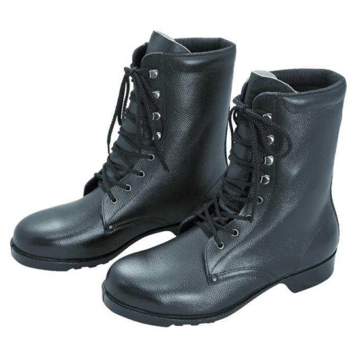 (T)ミドリ安全 ゴム底安全靴 長編上 V213N 23.5CM