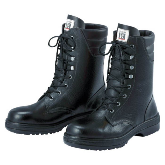 (T)ミドリ安全 ラバーテック長編上靴 25.5cm
