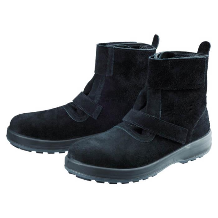 (T)シモン 安全靴 WS28黒床 23.5cm