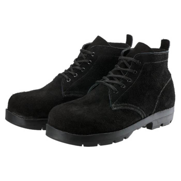 【エントリーでポイント5倍】(T)シモン 耐熱安全編上靴HI22黒床耐熱 26.5cm【2019/7/21 20時 - 7/26 1時59分】