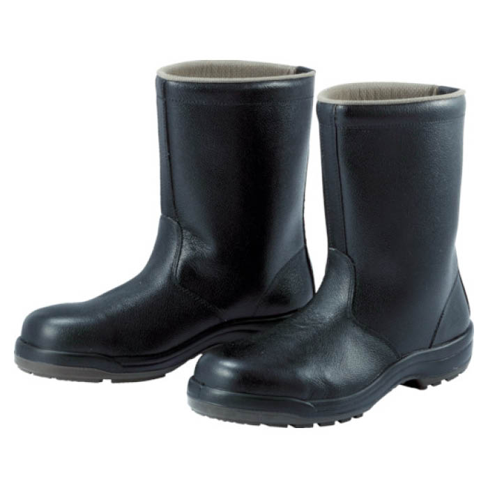 (T)ミドリ安全 ウレタン2層底 安全靴 半長靴 CF140 23.5CM