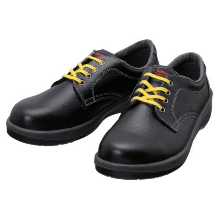 (T)シモン 静電安全靴 短靴 7511黒静電靴 23.5cm