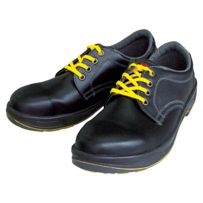 (T)シモン 静電安全靴 短靴 SS11黒静電靴 25.5cm